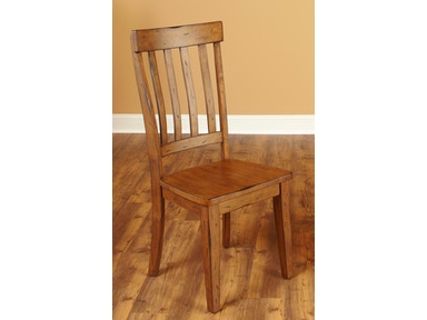 Largo International Overland Slat Back Parsons Chair D293-43