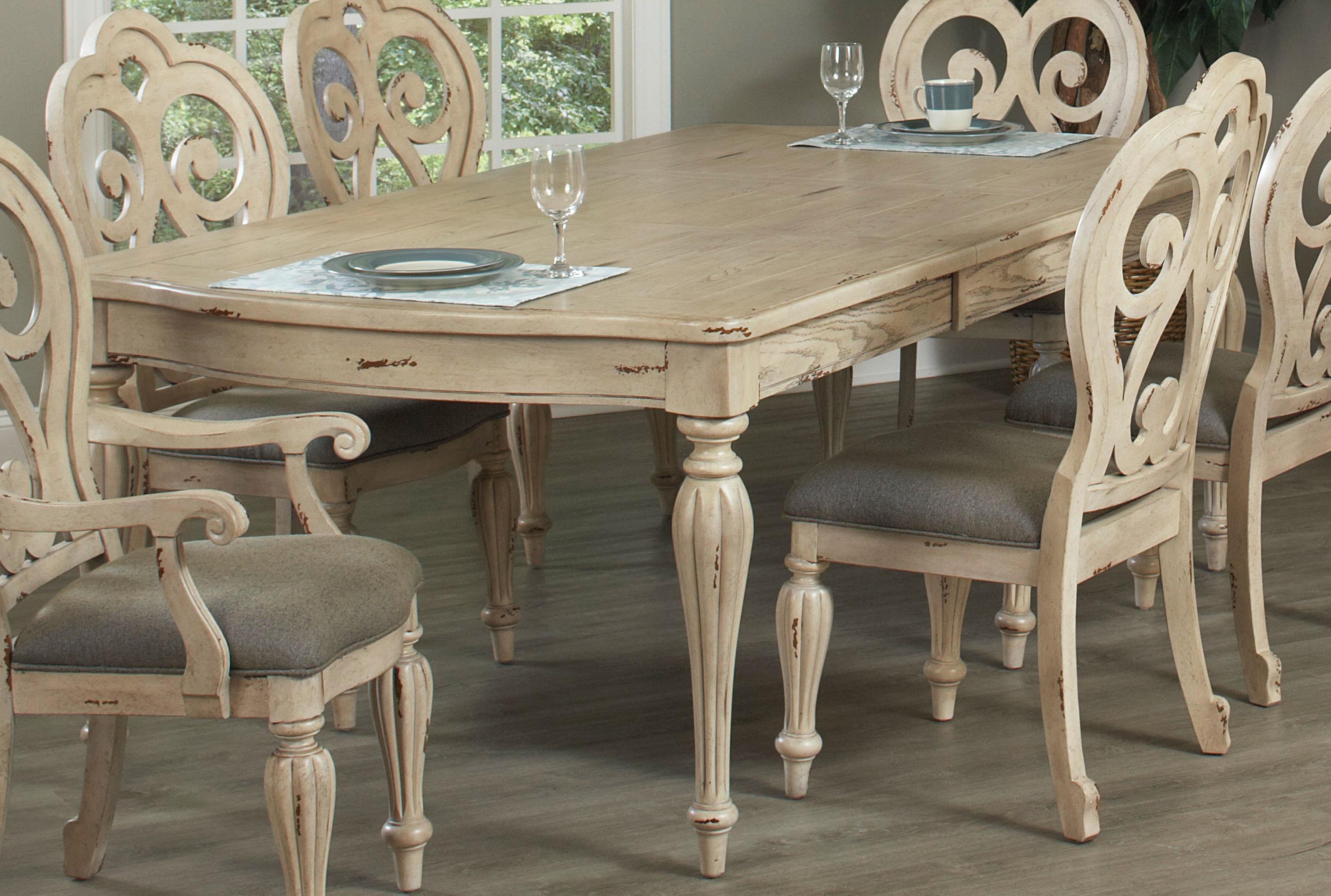 Amazing Largo International Leg Table With Leaf D4660 231