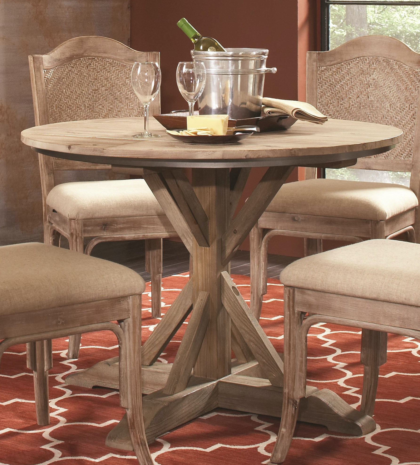 30 round dining table farmhouse largo international round dining table d68030 room matter