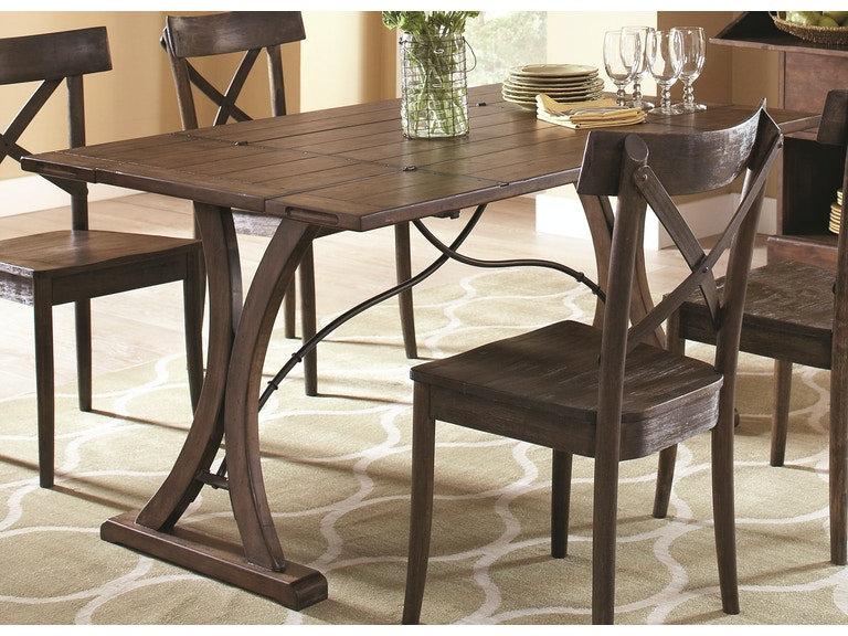 Largo International Dining Room Folding Top Dining Table D682 33