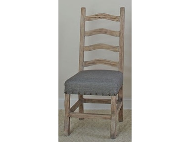 Largo International Ladder Back Side Chair (2/Ctn) D870-43