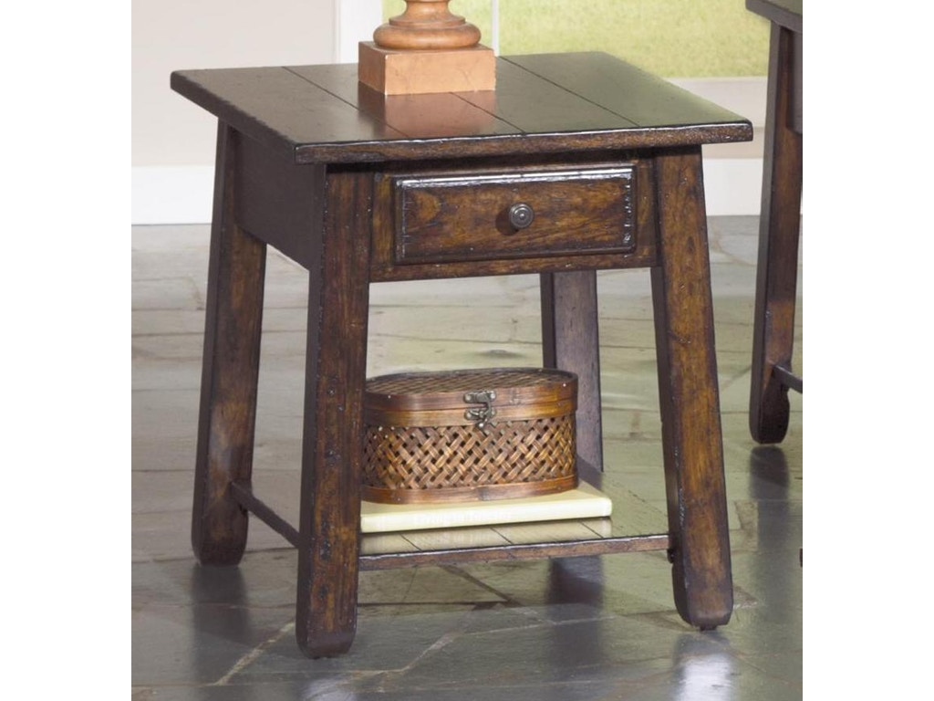 Largo International Living Room Rectangular End Table With