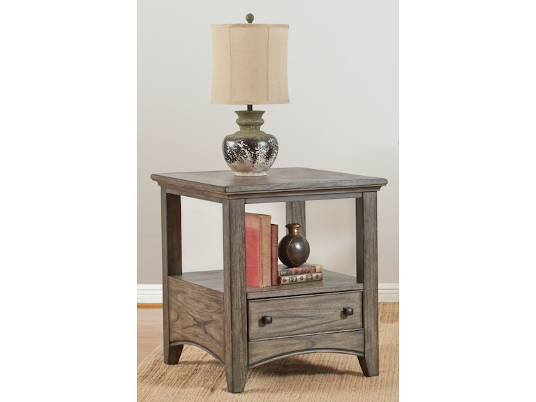 Largo International Living Room Rectangular End Table T186 125 At Indian River Furniture