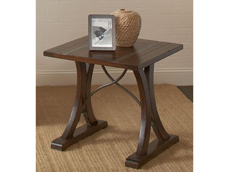 Largo International Living Room Square End Table T682 125 High