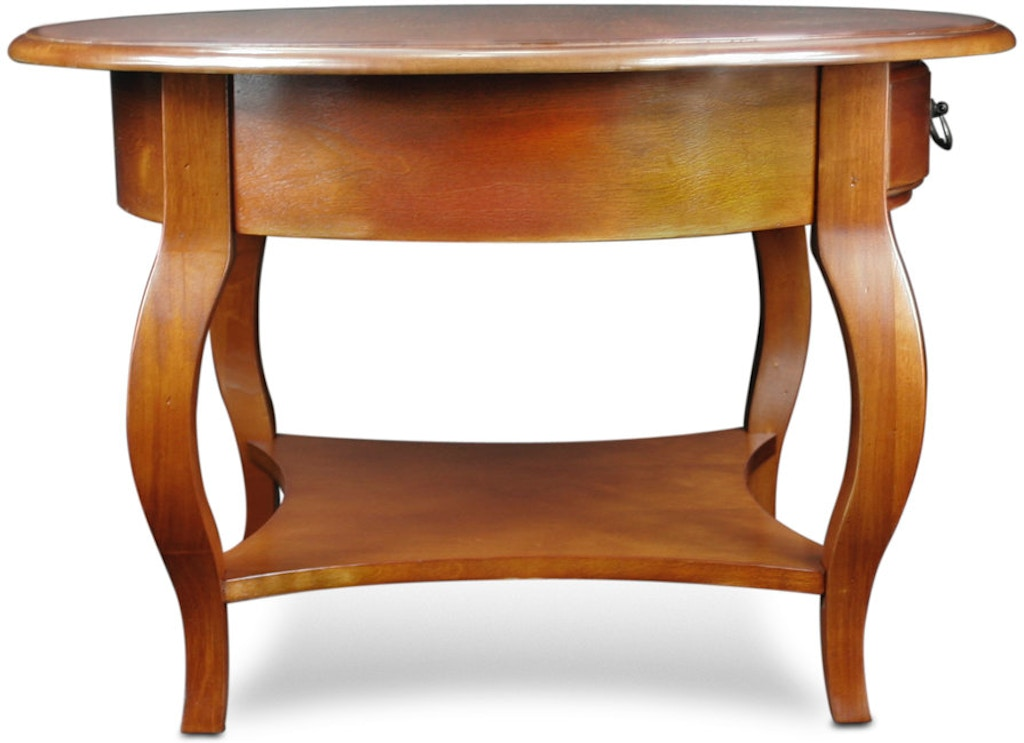 Leick Home Living Room Round Coffee Table 10034 Br Schmitt