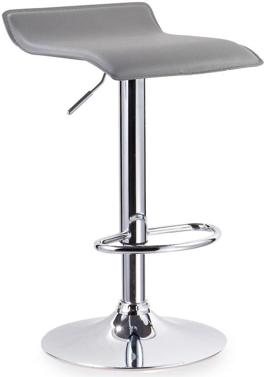 Strange Leick Home Bar And Game Room Grey Adjustable Swivel Bar Uwap Interior Chair Design Uwaporg