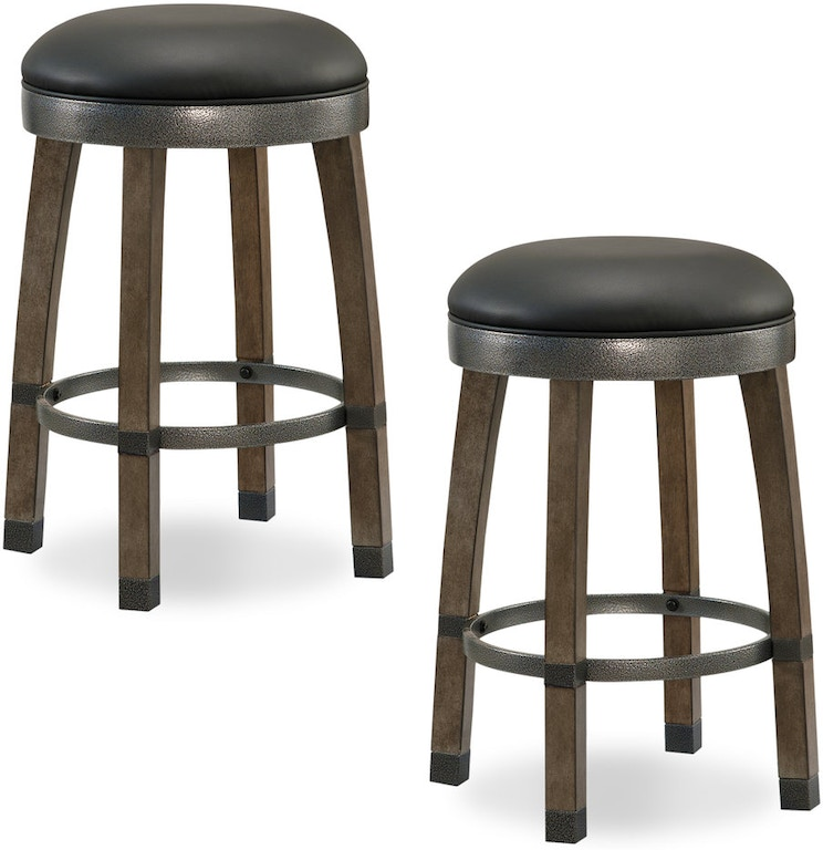 Sensational Leick Home Bar And Game Room Gray Stone Wood Cask Stave Gamerscity Chair Design For Home Gamerscityorg