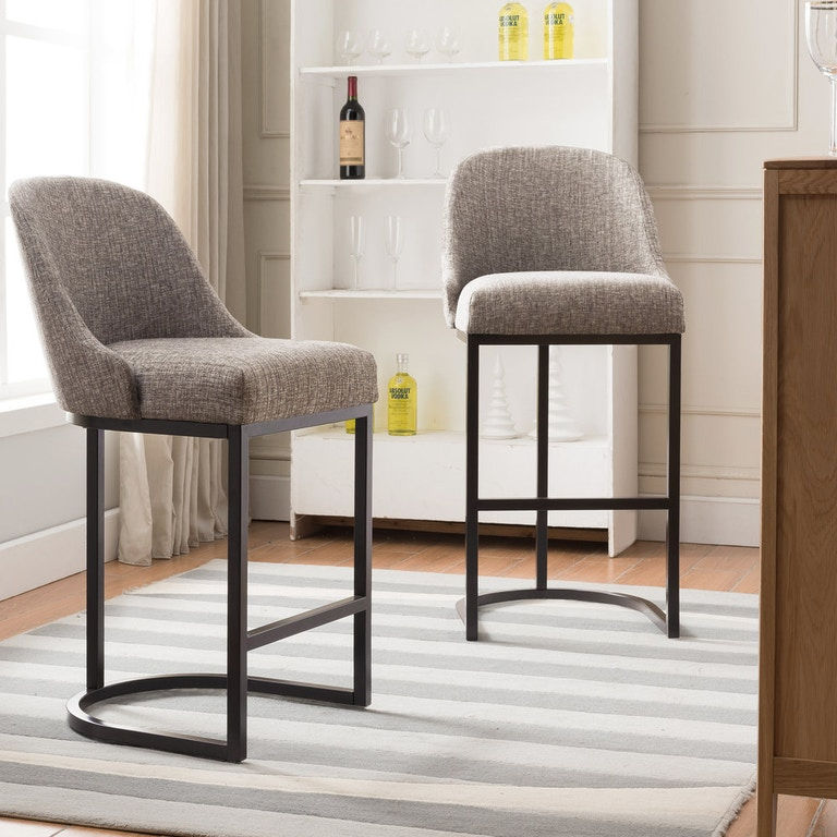 Leick Home Bar And Game Room Counter Stool With Espresso
