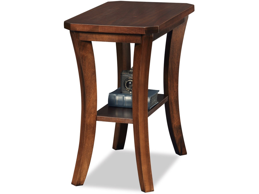 Leick home living room narrow chair side table boa - Narrow side tables for living room ...