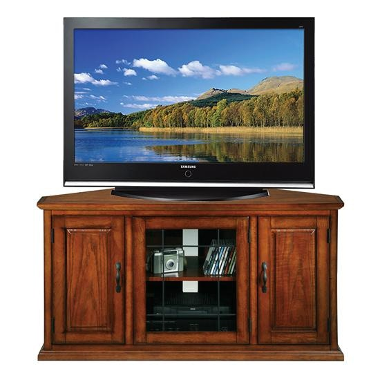Leick Furniture Home Entertainment Leaded Glass 60 Inches Tv Stand
