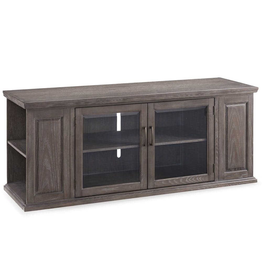Leick Home Home Office 62 Tv Stand With Bookcase Ends 84162