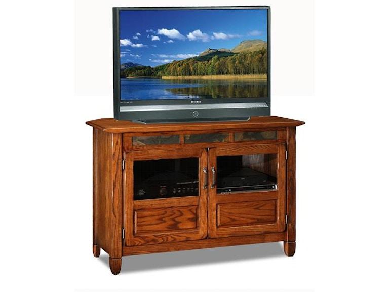 Leick Home Entertainment Rustic Oak Tv Console 89046 At Callan Furniture