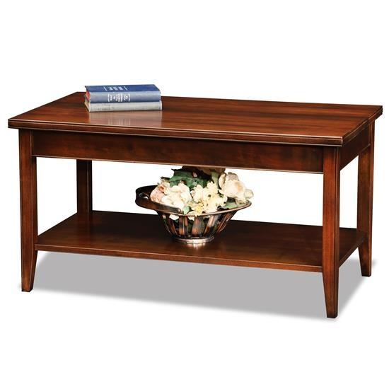 Leick Furniture Apartment-Condo Coffee Table 10503