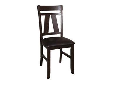 Homestead Collection-SU Splat Back Side Chair (RTA) 116-C2501S