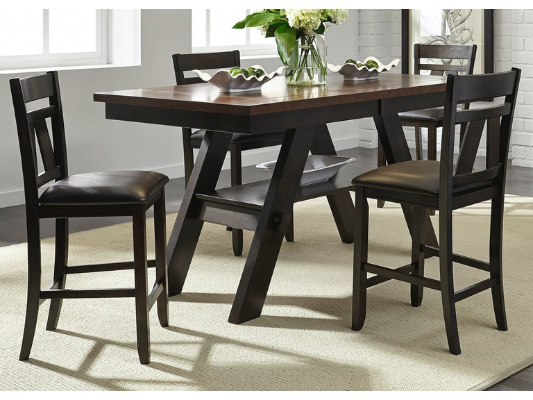 Liberty Furniture Dining Room 5 Piece Gathering Table Set 116 CD