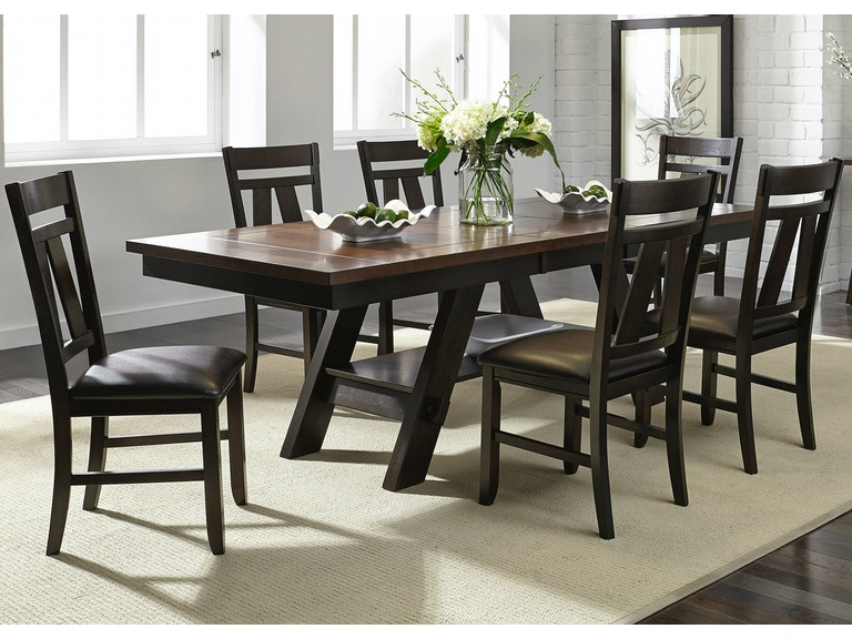 Liberty Furniture 7 Piece Rectangular Table Set 116 CD 7RLS