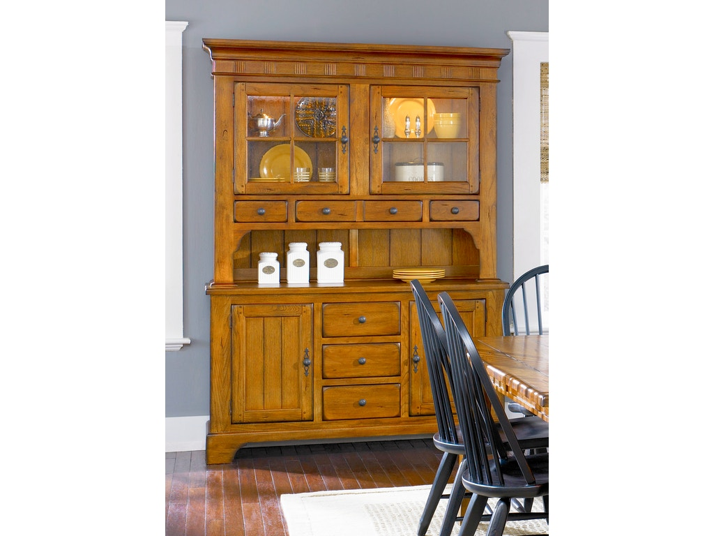 Liberty Furniture Dining Room Hutch And Buffet Set 17 Dr