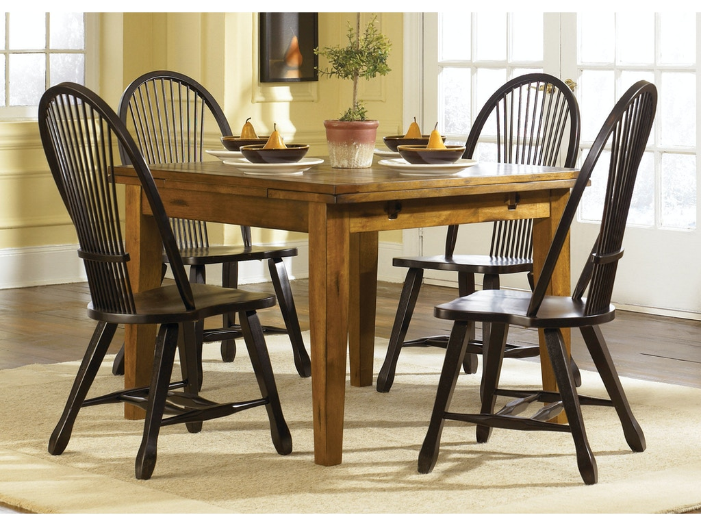Liberty furniture dining room opt 5 piece retractable for Table th visible