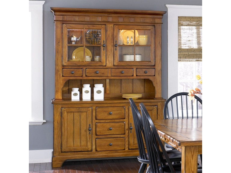 Liberty Furniture Dining Room Hutch And Buffet 17 Dr Hb Ramsey