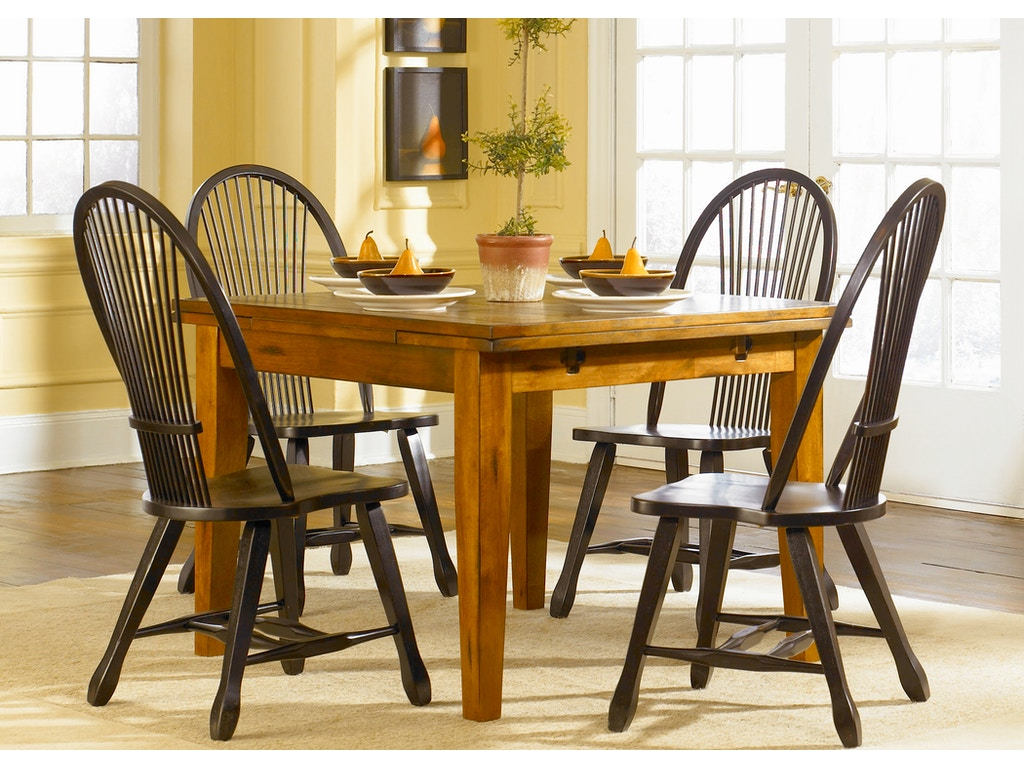 Liberty furniture dining room opt 5 piece retractable for H o rose dining room