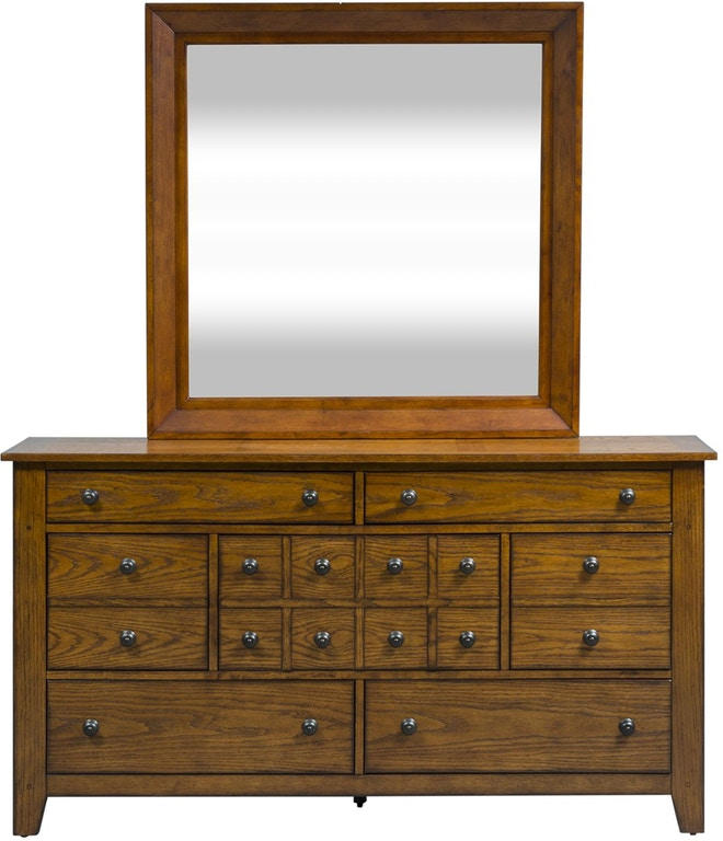 Liberty Furniture Youth Dresser And Mirror 175 Br Dm Arthur F Schultz Erie Pa