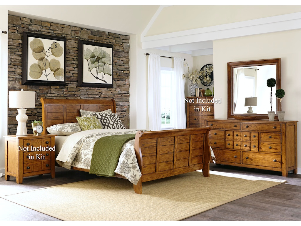 Liberty Furniture Bedroom Liberty Furniture Bedroom Queen Sleigh Bed Dresser And Mirror 175