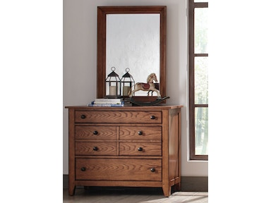 Liberty Furniture Dresser & Mirror 175-YBR-DM