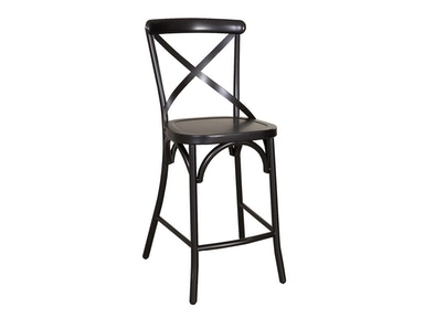 Liberty Furniture X Back Counter Chair - Black 179-B300524-B