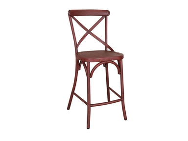 Liberty Furniture X Back Counter Chair - Red 179-B300524-R