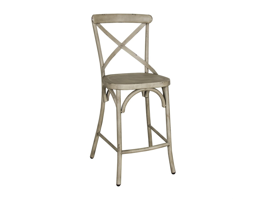 Liberty furniture bar and game room x back counter chair for Jungle furniture white river
