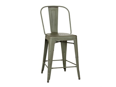 Liberty Furniture Bow Back Counter Chair - Green (RTA) 179-B350524-G