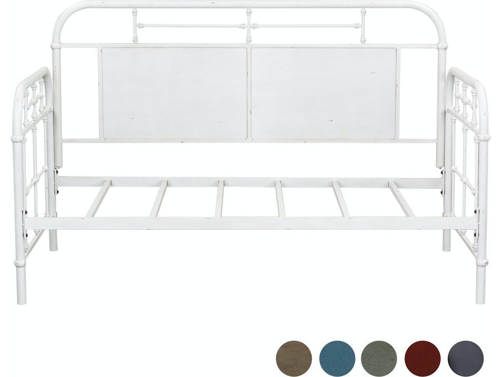 Prime Liberty Furniture Youth Twin Metal Day Bed Antique White 179 Br11Tb Aw Bralicious Painted Fabric Chair Ideas Braliciousco