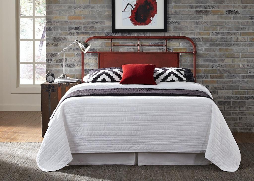 Liberty Furniture Bedroom Queen Metal Headboard Red 179 Br13h R Good S Furniture Kewanee Il