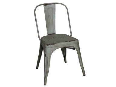 Homestead Collection-SU Bow Back Side Chair - Green 179-C3505-G