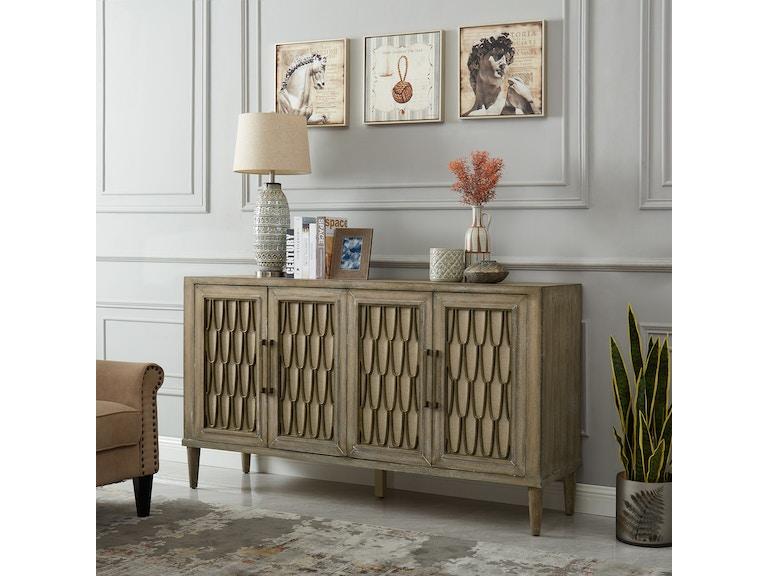 Liberty Furniture Living Room 4 Door Accent Cabinet 2064-AC6838