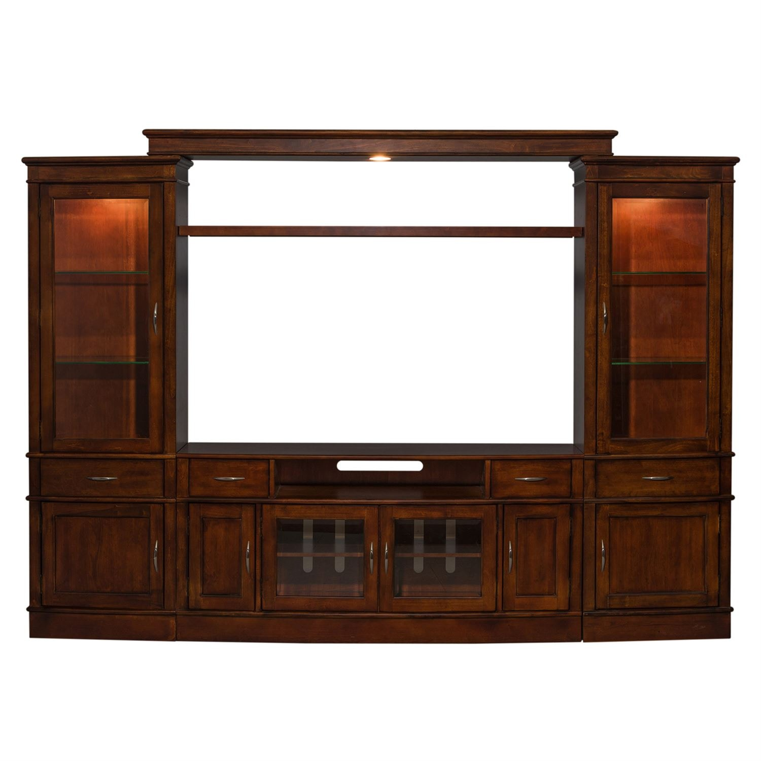 Liberty Furniture Entertainment Center With Piers 222 ENTW ECP