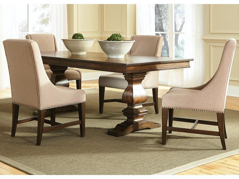 Liberty Furniture 5 Piece Trestle Table Set 242 DR 5TRS