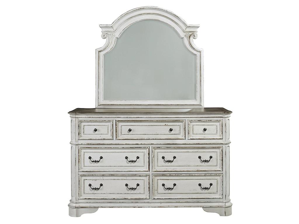 Liberty Furniture Bedroom Dresser And Mirror 244 Br Dm Feceras Furniture Mattress Sinking