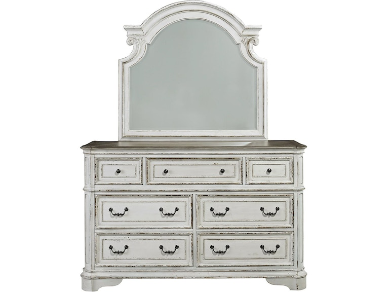 Liberty Furniture Dresser And Mirror 244 Br Dm