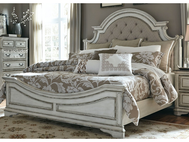 Liberty Furniture Bedroom King Upholstered Bed Frazier And Son