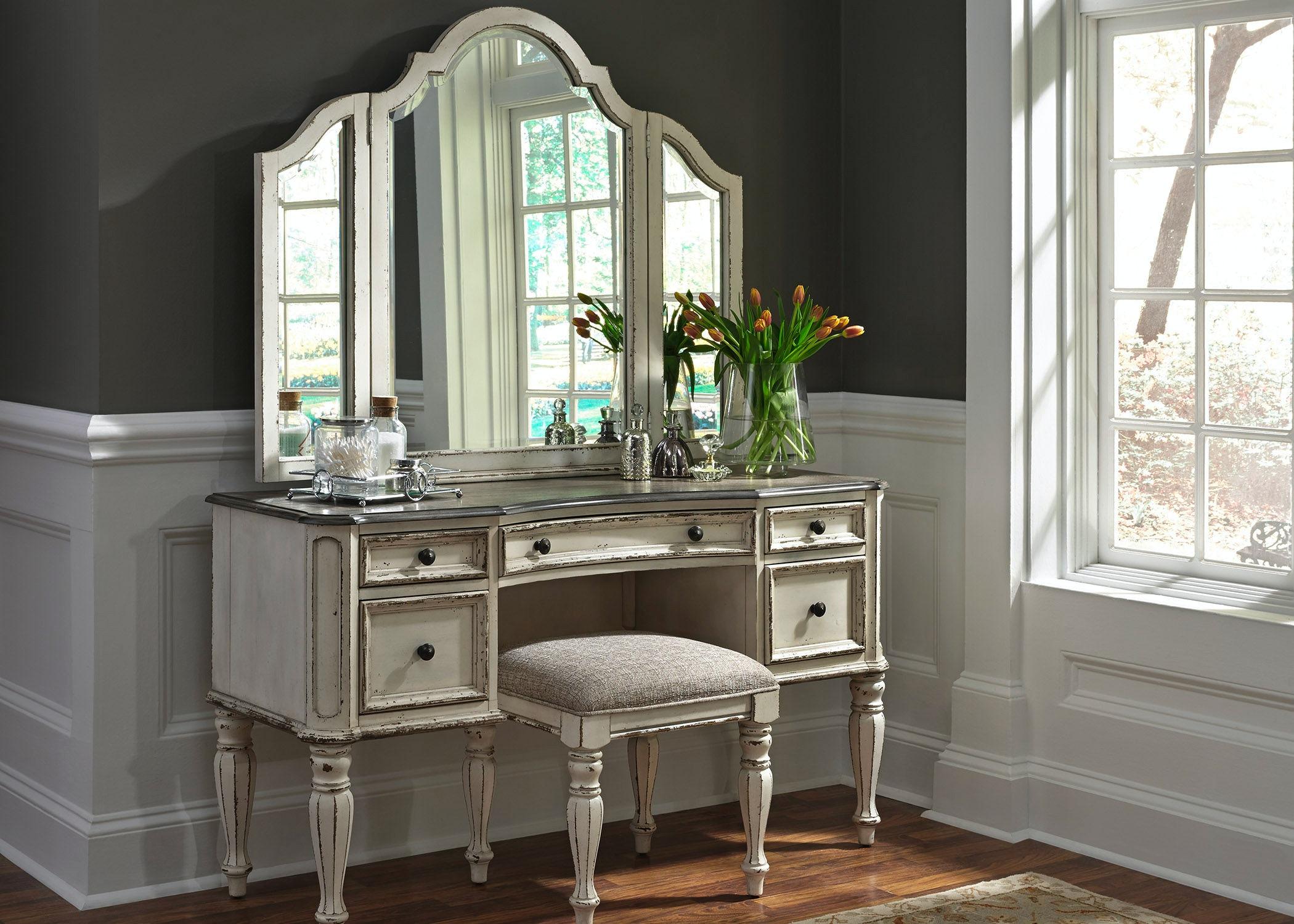 Bon Liberty Furniture Vanity 244 BR VN