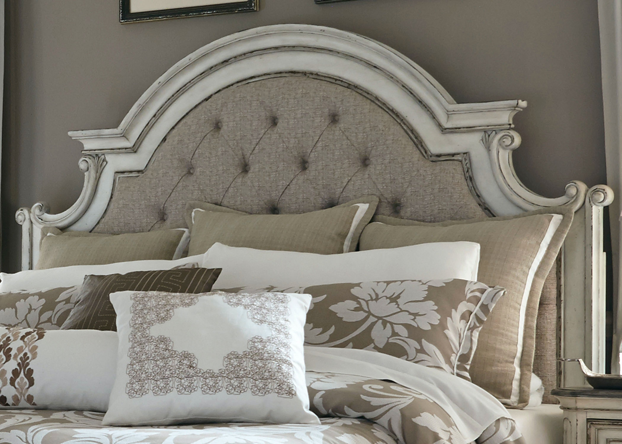 Liberty Furniture Bedroom King Uph Panel Headboard 244 BR15HU At B.F. Myers  Furniture