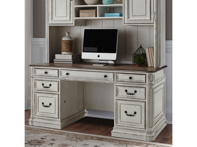Home Office Sets Painted Office 5 Piece: Liberty Furniture Home Office Complete 5 Piece Desk 244
