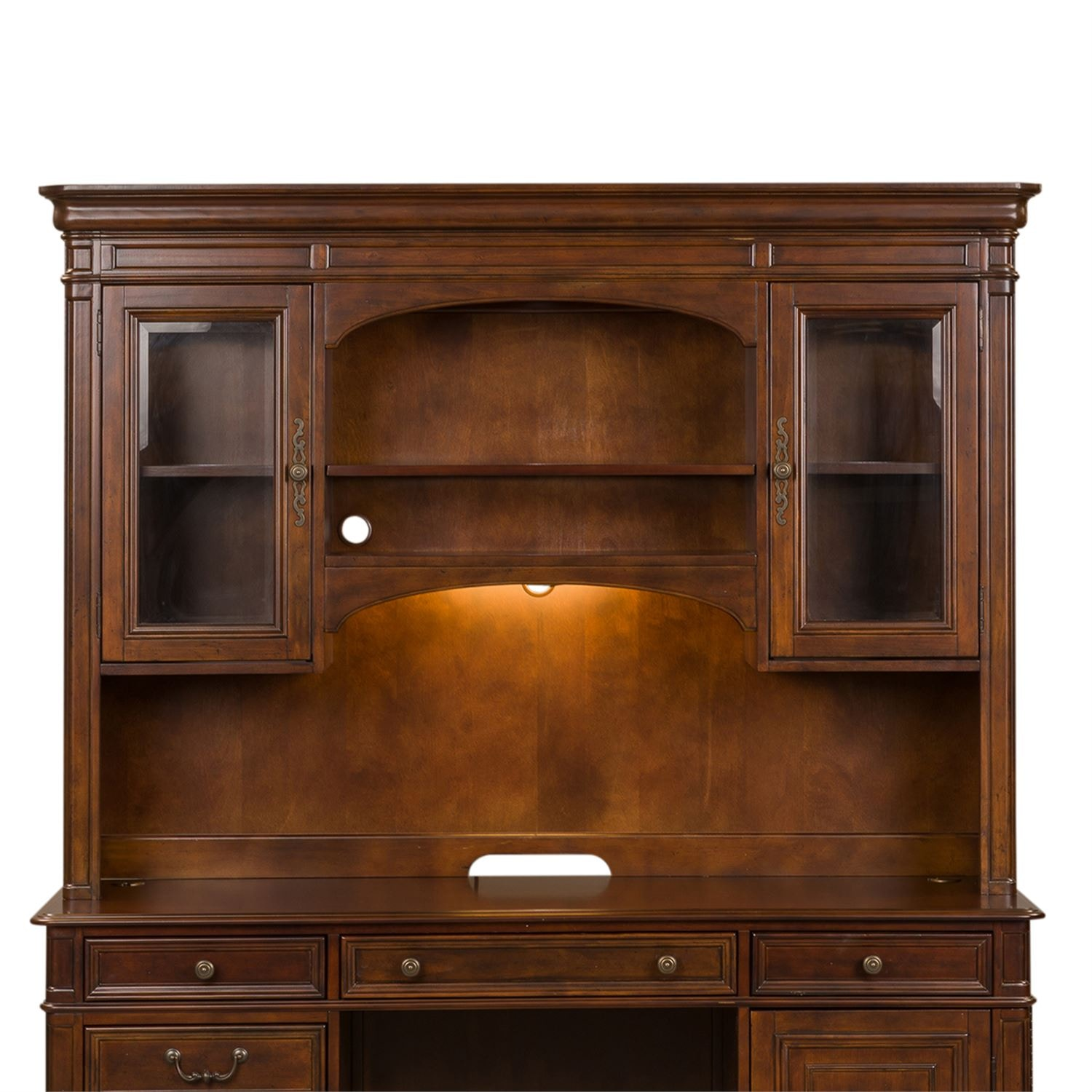 Liberty Furniture Home Office Jr Executive Credenza Hutch