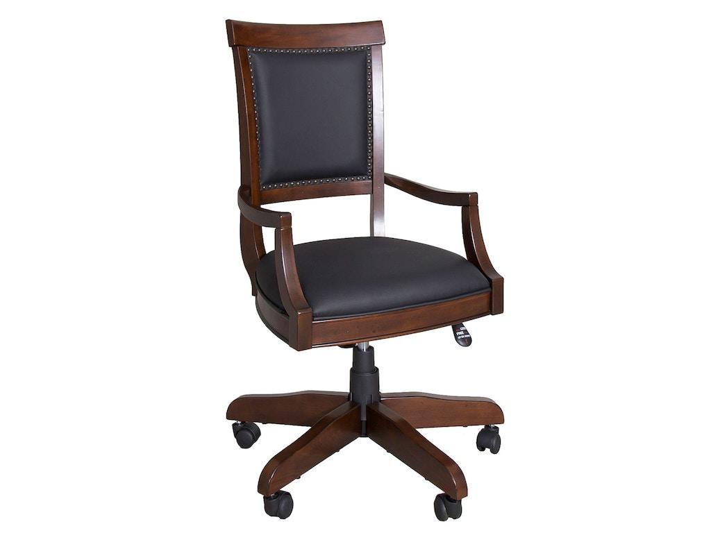 Liberty Furniture Home Office Jr Executive Desk Chair Rta