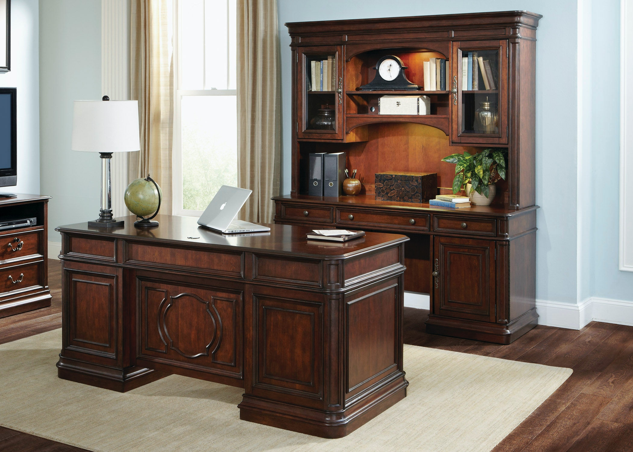 Liberty Furniture 5 Piece Jr Executive Set 273 HOJ 5JES