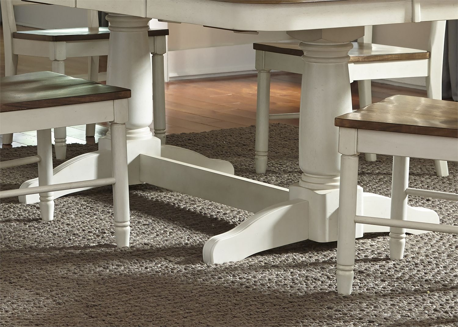 Springfield Dining Double Pedestal Table Base 278 P4202
