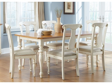 Liberty Furniture 7 Piece Rectangular Table Set 303-CD-7RLS