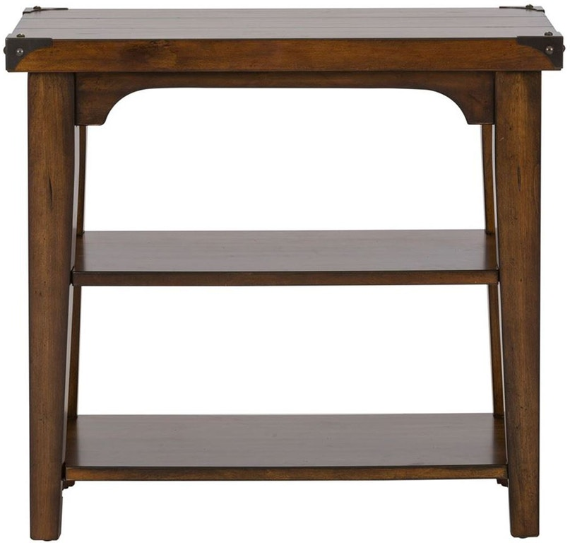 Catalog Furniture Companies: Liberty Furniture Living Room Chair Side Table 316-OT1021