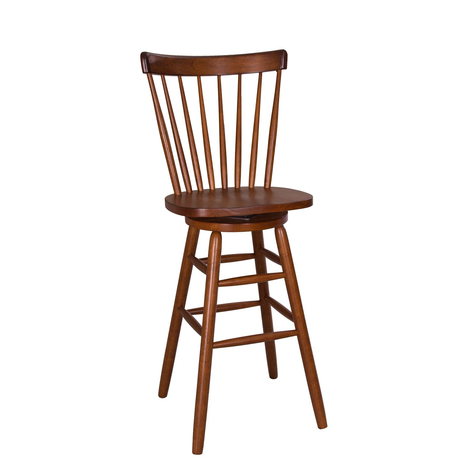 Liberty Furniture 30 Inch Copenhagen Barstool   Tobacco 38 B1730